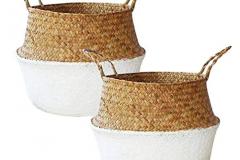 5. Foldable Flower Basket (set of 2) $18.99