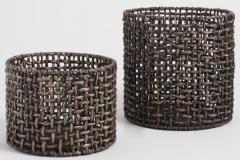 8. Black Hyacinth Amber Baskets $29.99-$49.99