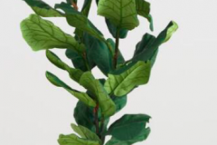 9. Faux Fiddle-Leaf Fig Plant $129.99