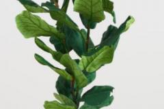 9. Faux Fiddle-Leaf Fig Plant $129.99