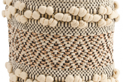 11. Made in India Jute Storage Basket $14.99
