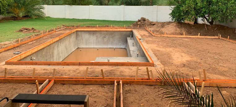 Framing for the Pool Decking