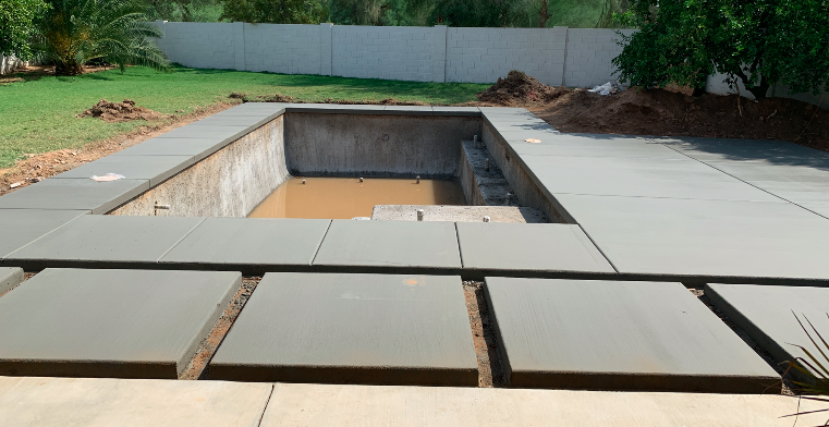 Pool Decking Cement Complete