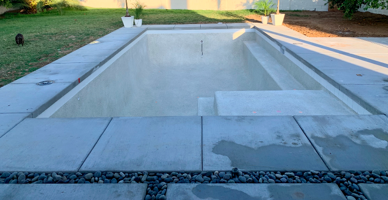 Pebble Radiance interior Pool Finish - White Sand