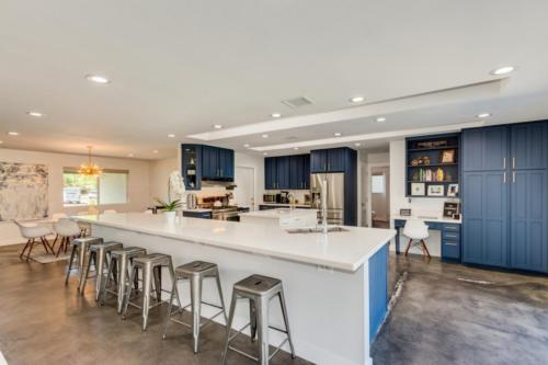 Large Kitchen with Quartz Countertops  // Emily Wertz, Realtor // JustClickYourHeels.com