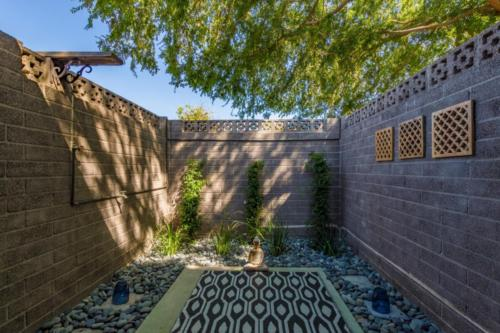 Zen/Yoga Patio off Master Bath  // Emily Wertz, Realtor // JustClickYourHeels.com