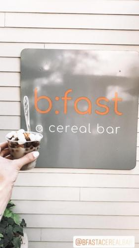 BFast a Cereal Bar